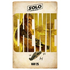 Solo: A Star Wars Story, 2018, Chewie Poster