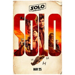 """""""Solo: A Star Wars"""" Story '2018' Poster"""
