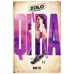 Solo: A Star Wars Story '2018' - Qira Poster