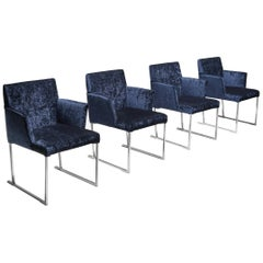 Solo Chairs by Antonio Citterio for Maxalto, Set of Four