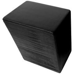 Solo Cube Side Table Sculpted by Kreadiano