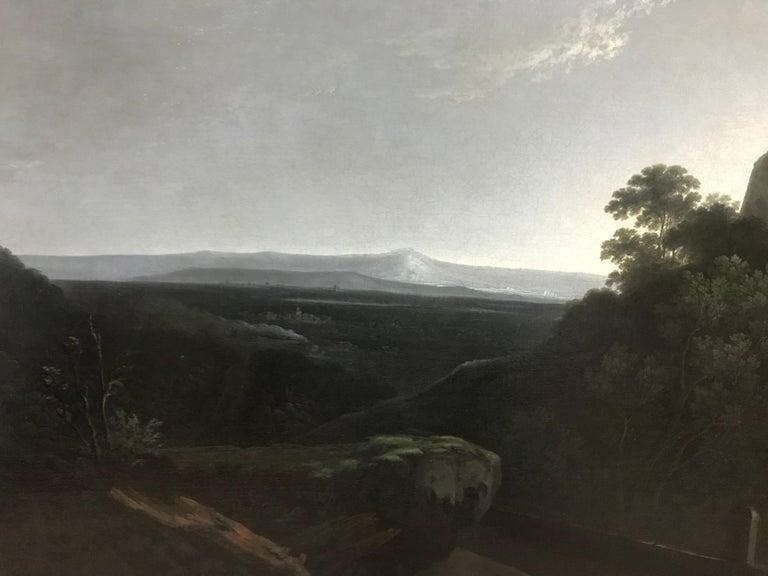 Solomon Delane - A landscape view near Tivoli For Sale 2