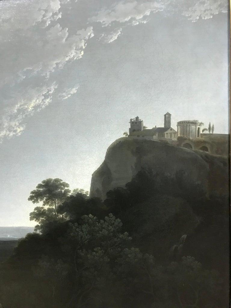 Solomon Delane - A landscape view near Tivoli For Sale 3