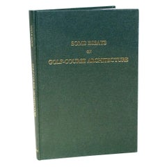 Some Essays on Golf Architecture by H.S. Colt and C.H. Alison, Limited Edition