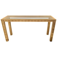 Somerset Bay Home Stylish Contemporary Console Table