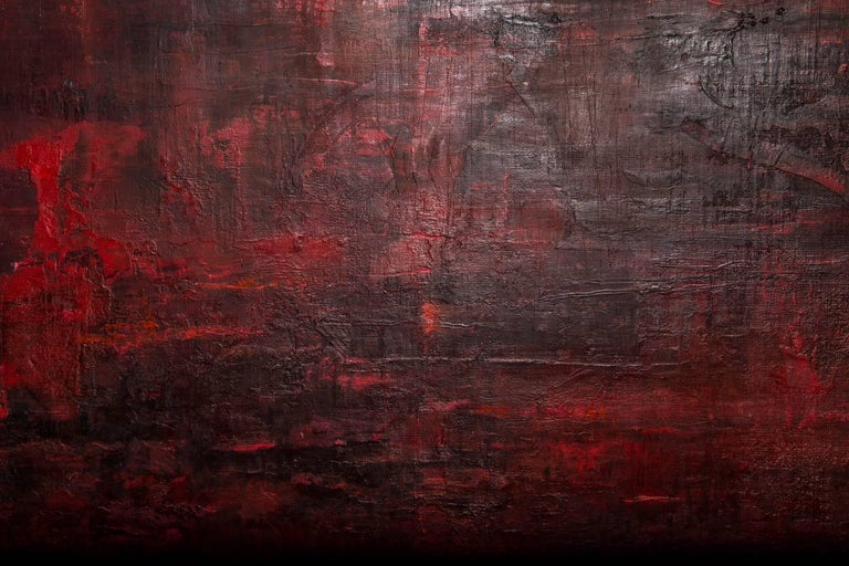 Modern 'Something and Nothing in Red' by Kate Buckley For Sale