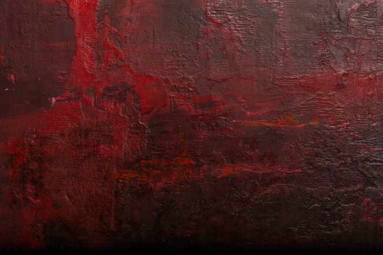 Contemporary 'Something and Nothing in Red' by Kate Buckley For Sale