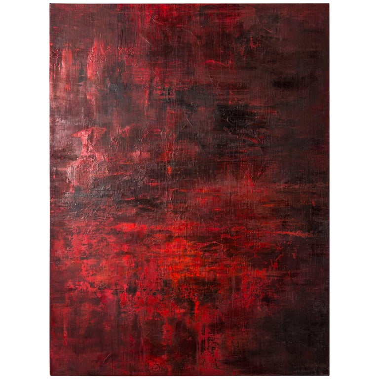 'Something and Nothing in Red' by Kate Buckley For Sale