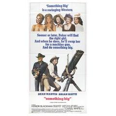 """Something Big"" 1971 U.S. Three Sheet Film Poster"