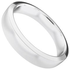 Sommet Sterling Silver Semi-Bold Ring, Wedding Band by House New York