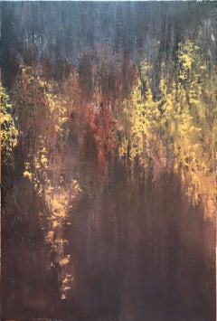That moment of wonder 12 - Modern abstract painting by Son Anh Tran, Vietnam