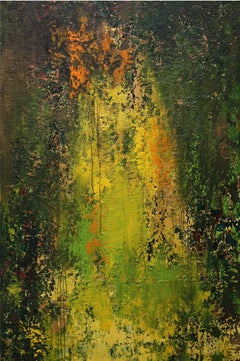 That moment of wonder 6 - Modern abstract painting by Son Anh Tran, Vietnam