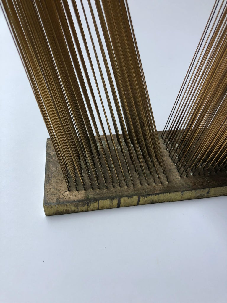 Sonambient Sculpture by Harry Bertoia In Excellent Condition For Sale In New York, NY