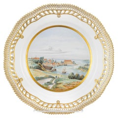 Sonderborg Castle Porcelain Plate by Royal Copenhagen