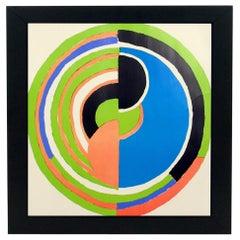 Sonia Delaunay Lithograph