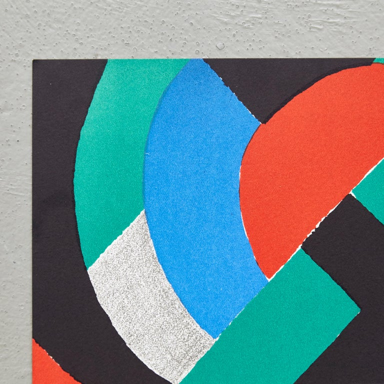 French Sonia Delaunay Lithography For Sale