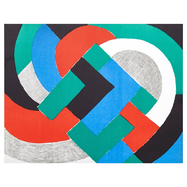Sonia Delaunay Lithography For Sale