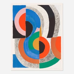 Sonia Delaunay 'Hippocampe' Signed Limited Edition Lithograph Print