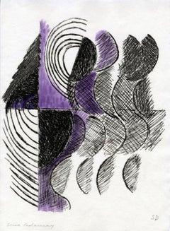 """""""Juste Présent"""" de Tristan Tzara planche 8"""