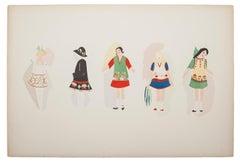 """Plate n. 6 from """"Ses peintures, ses objets, ses tissus simultanés, ses modes"""""""