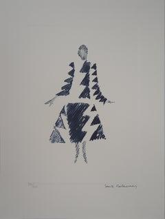 Rhythms Triangles Dress - 1926 - Lithograph (Artcurial edition)