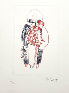 Sonia Delaunay - The Three Graces - Signed Original Lithograph