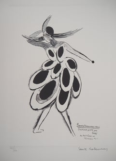 Spain : Flamenco Dancer - Lithograph (Artcurial edition)