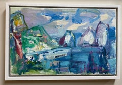 Island of Capri, original abstract landscape