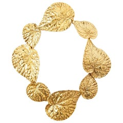 Sonia Rykiel Leaf Necklace