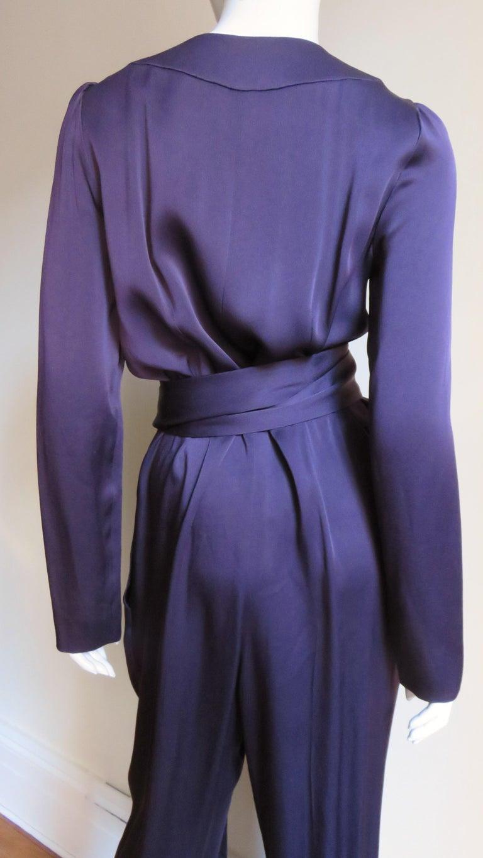 Sonia Rykiel New Silk Jumpsuit For Sale 5