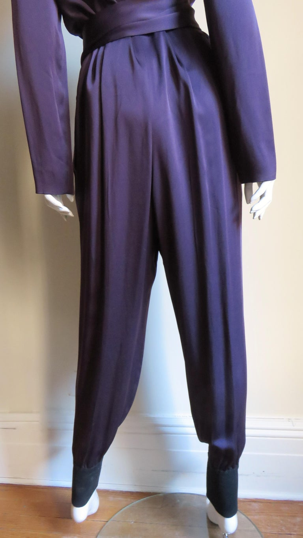 Sonia Rykiel New Silk Jumpsuit For Sale 7