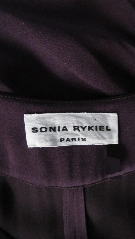 Sonia Rykiel New Silk Jumpsuit For Sale 9