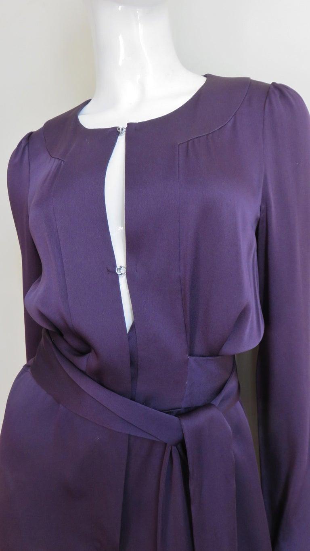 Women's Sonia Rykiel New Silk Jumpsuit For Sale