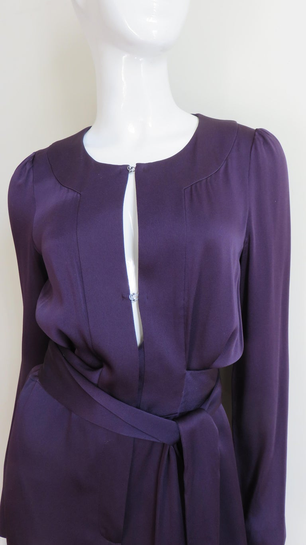 Sonia Rykiel New Silk Jumpsuit For Sale 1