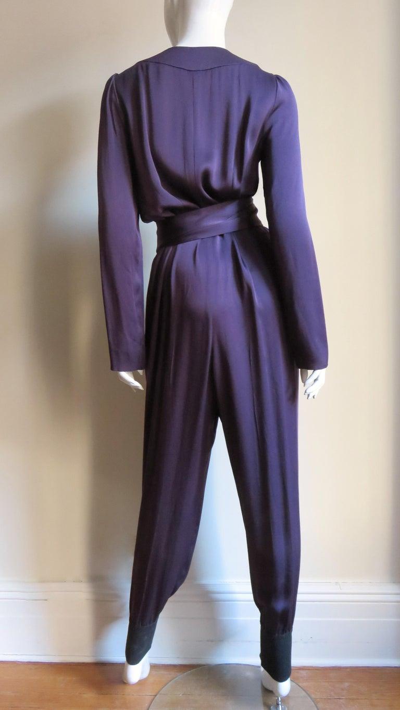 Sonia Rykiel New Silk Jumpsuit For Sale 4