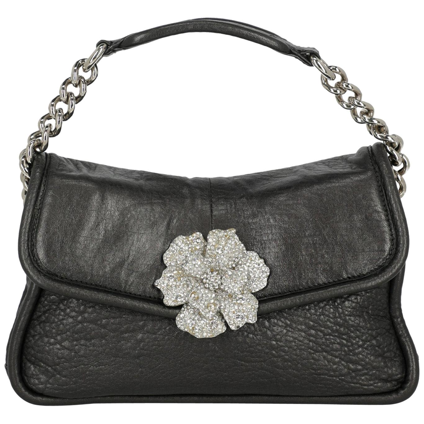 Sonia Rykiel Woman Handbag Anthracite Leather