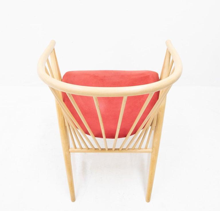 Mid-Century Modern Sonna Rosen Sun Feather Chair, 1950s