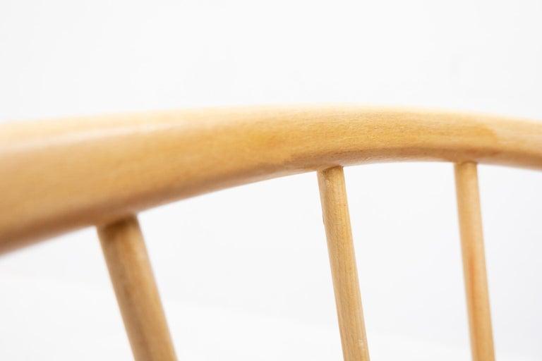 Mid-20th Century Sonna Rosen Sun Feather Chair, 1950s