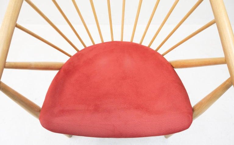 Sonna Rosen Sun Feather Chair, 1950s 1