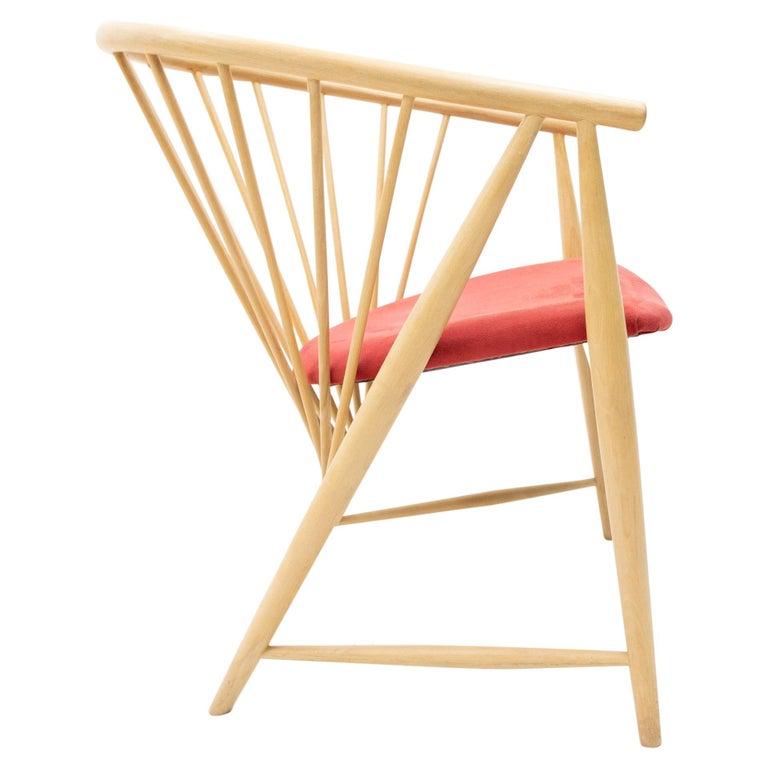 Sonna Rosen Sun Feather Chair, 1950s