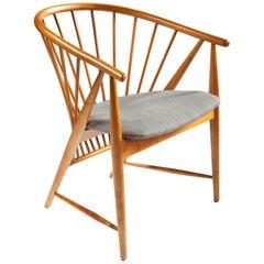Sonna Rosén Sun Feather Chair for Nassjo Stolfabrik of Sweden, 1950s