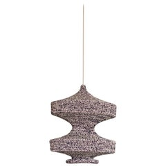 Sonne Ø42 Light Deepsea Marl, Hand Crocheted in 100% Mercerized Egyptian Cotton
