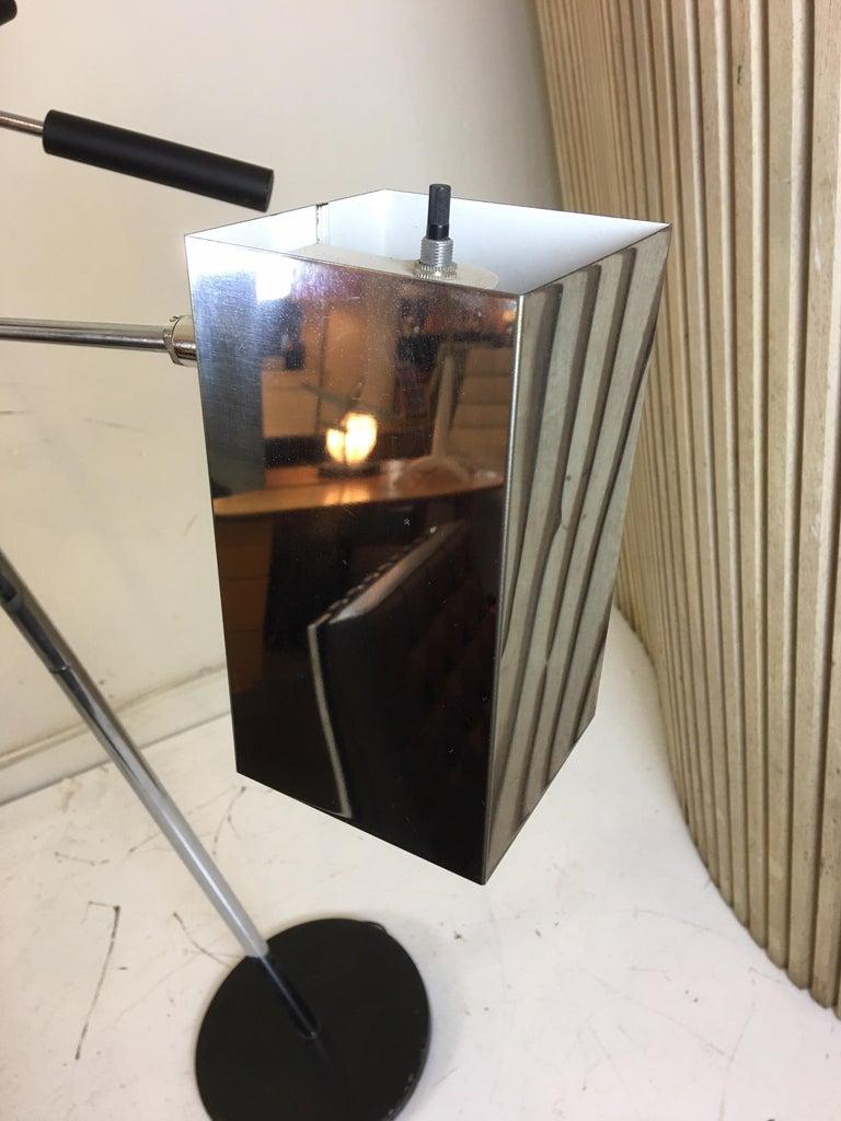 Mid-20th Century Sonneman 3 Shade Floor Lamp For Sale
