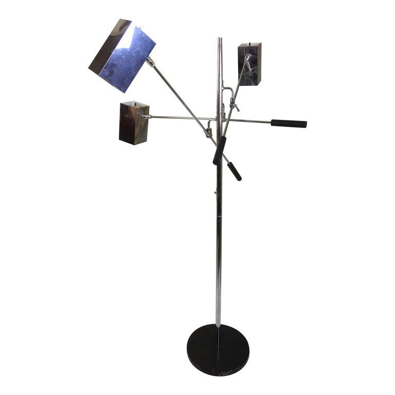 Sonneman 3 Shade Floor Lamp For Sale