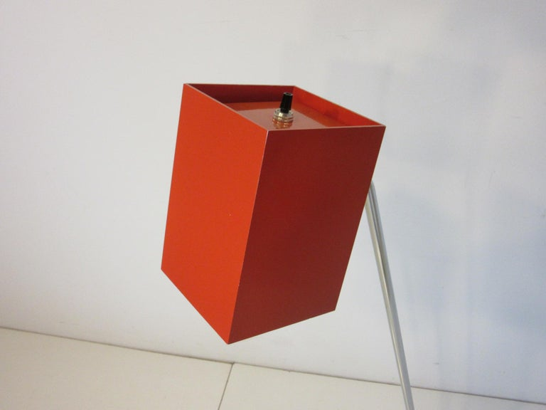 Sonneman Cube Floor Lamp for George Kovacs In Good Condition For Sale In Cincinnati, OH