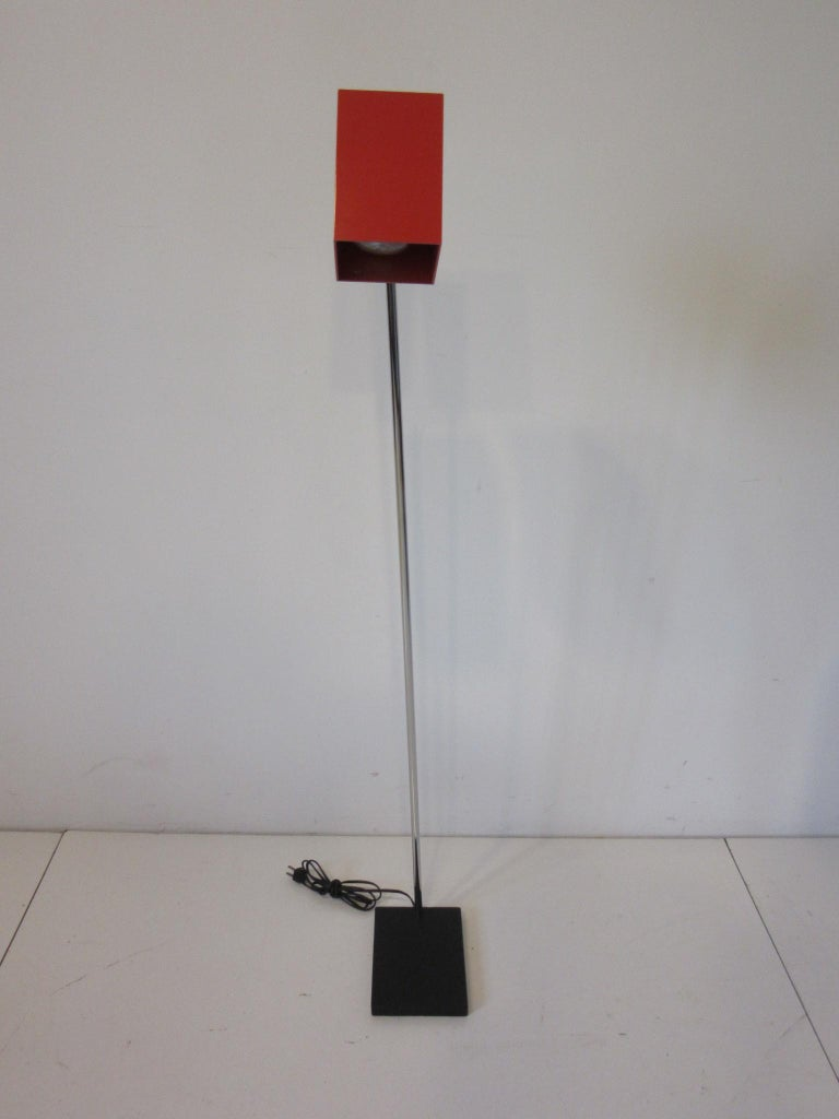 20th Century Sonneman Cube Floor Lamp for George Kovacs For Sale