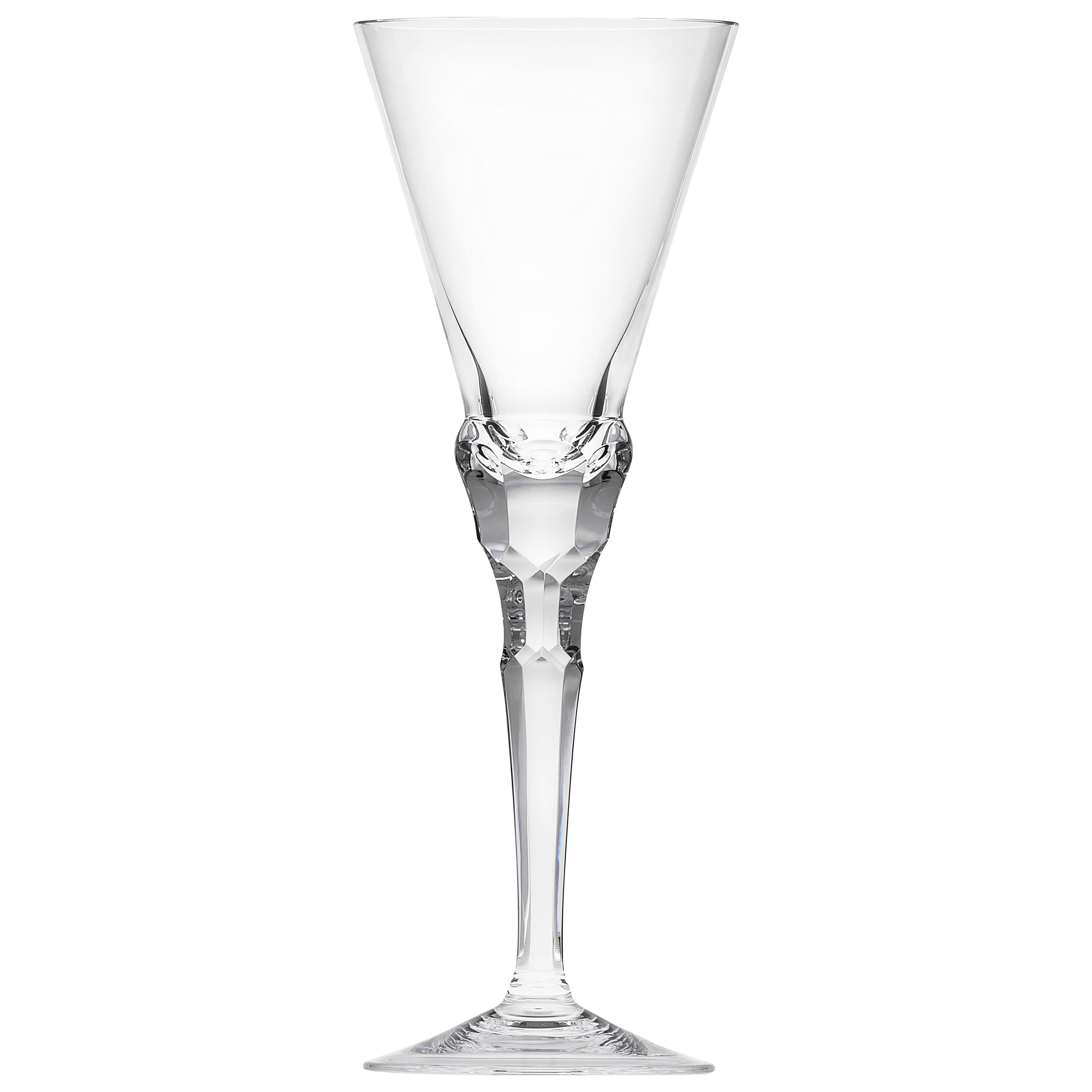 Sonnet Red Wine Goblet Clear Lead-Free Crystal Glass Clear, 9.12 Oz