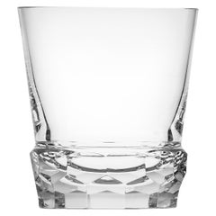 Sonnet Whisky Tumbler Lead-Free Crystal Glass Clear, 12.51 Oz
