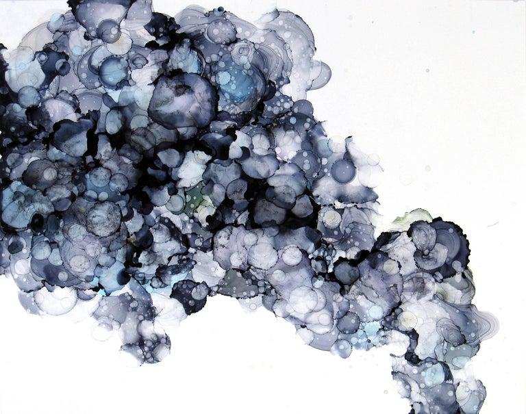 Sonomi Kobayashi Abstract Painting - Clouds #10