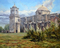 """""""Mission San Jose""""  One of the most beautiful of the San Antonio Texas Missions."""